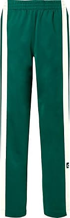 adidas Originals Adibreak Striped Satin-jersey Track Pants - Jade