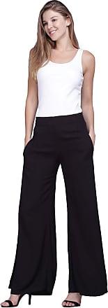 Amazônia Vital Calça Pantalona Amazonia Vital Essential Feminina Cor:Preto;Tamanho:GG;Gênero:Feminino