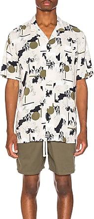 Zanerobe Solar Print Shirt in Tan
