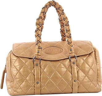 Chanel Lady Braid Flap Tote Quilted Distressed Lambskin Large 4193b52175234