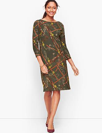 NWT Ann Taylor Crochet Trim Shift Sleeveless Dress   14  $139.00 New Olive