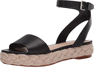 Vince Camuto Womens Defina Espadrille Sandal Platform, Black, 3.5 UK
