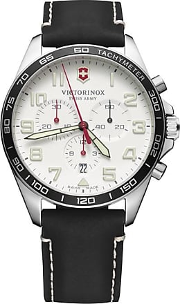 Victorinox by Swiss Army Relógio Fieldforce Chronograph 42mm - Homem - Preto - 42mm CH