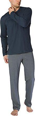 1aedddf1ed5e38 CALIDA Bill Herren Pyjama Zweiteiliger Schlafanzug, Mehrfarbig (Onyx 808),  X-Large