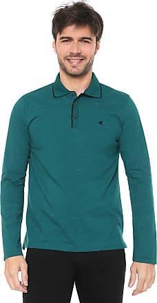 Malwee Camisa Polo Malwee Reta Logo Verde
