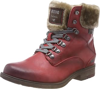 Mustang Womens Stiefelette Ankle Boots, Red (Rot 5), 7.5 UK