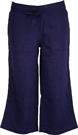 Tom Franks Womens Relaxed Trousers Blue navy UK 10
