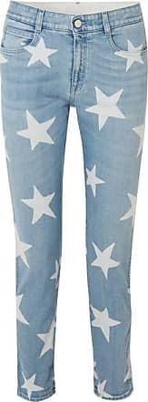 Stella McCartney Printed Boyfriend Jeans - Light denim