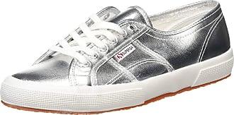 Superga Unisex Adults 2750-cotmetu Gymnastics Shoes, Silver (Grey Silver 031), 8.5 UK