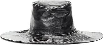 Maison Michel Lauren leather hat
