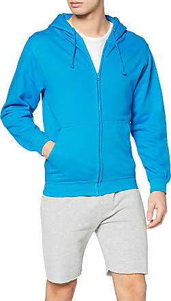 Awdis Just Hoods Mens Zoodie Hoodie, Blue (Sapphire Blue), Large