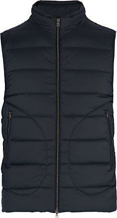 Herno Legend Quilted-down Gilet - Mens - Navy