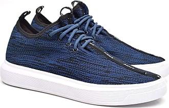 Fork Tênis Sneaker Masculino Fork 5058-3EC Azul 42