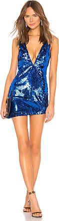 NBD Dinara Mini Dress in Blue