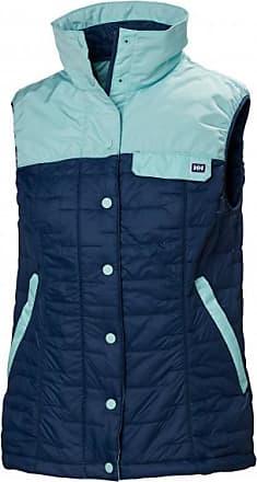 Helly Hansen Womens Movatn Wool Insulator Vest Gilet in lana Donna   blu/turchese