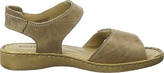 Josef Seibel Womens Lisa 01 Ankle Strap Sandals, Beige (Taupe 95 250), 7 UK (41 EU)