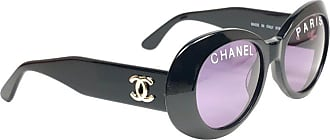 2840390f239 Chanel New Vintage Chanel 01947 Spring   Summer 1993 Black Sunglasses Made  In Italy