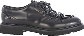 Doucal's Leather Hiking lace-ups, 42 Black