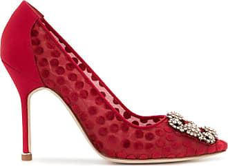Manolo Blahnik Pumps Hangisi - Di colore rosso
