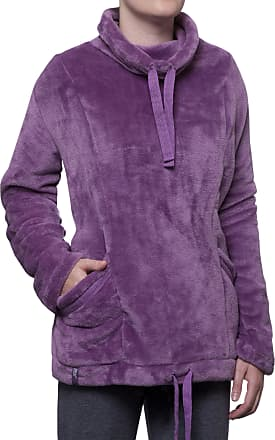 1 Mens Thermal Winter Warm Heat Holders Snugover Fleece Jumper In Navy S//M