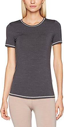 1056d1cb6c Skiny Damen Active Wool Women Shirt Kurzarm Thermounterwäsche - Oberteil,  Grau (Anthracite Melange 4676
