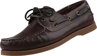 Dockers by Gerli mens brown and natural boat moccasins shoes Brown Size: 9.5 UK