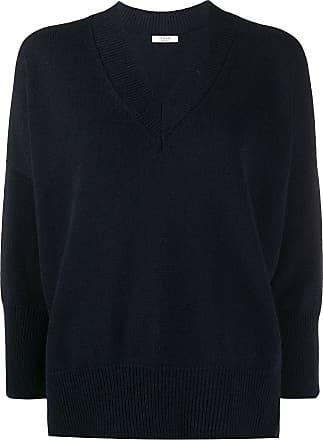 PESERICO Suéter com fenda na barra - Azul