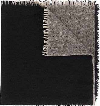 Uma Wang colour-block scarf - Black