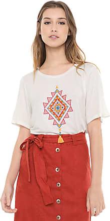 Dress To Camiseta Dress to Bordada Off-white