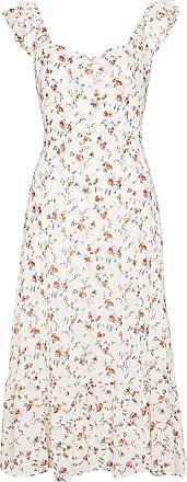 Reformation Vestido midi com estampa floral Bondi - Neutro