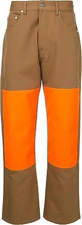 Études Studio contrast panel trousers - Brown