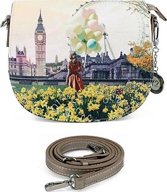 Y Not YNOT? Flower tower saddle bag - Spring summer - White - M