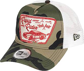 New Era Rapid Rides Cap Auto Trucker Verstellbar Kappe Basecap Camouflage - One-Size
