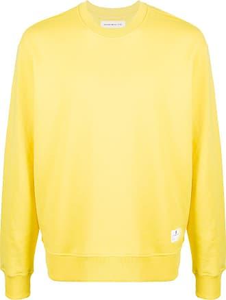 Department 5 Moletom slim com mangas longas - Amarelo