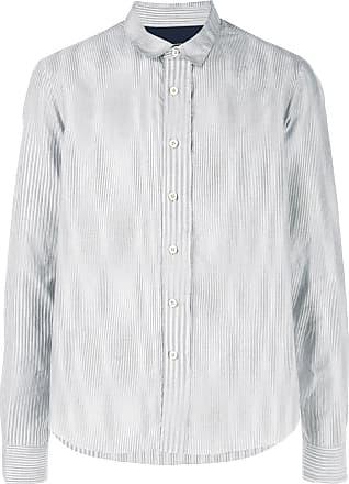Ziggy Chen striped shirt - Grey