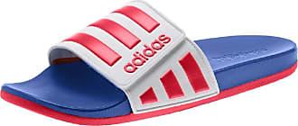 adidas Originals Adilette Slippers White Size: 9.5 UK