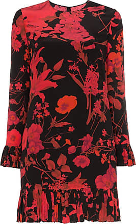 Valentino printed flower dress - Black