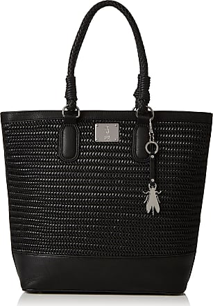 FLY London Womens Lile612fly Tote Black (Black)