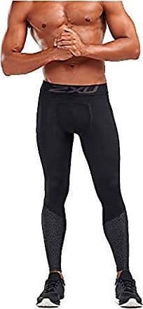 2XU Accelerate (With Storage) Mens Long Compression Tights - Black