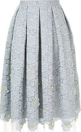 Onefifteen pleated lace skirt - Grey