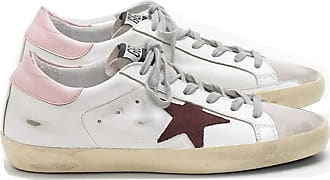 Golden Goose Womens Trainers Sneakers Leather GGDB Casual Shoes Super Star Slide Purple Pink