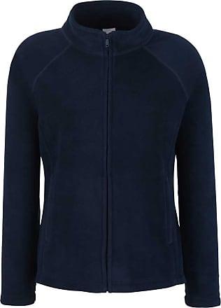 Fruit Of The Loom Ladies Lady Fit Full Zip Fleece Jacket Deep Navy