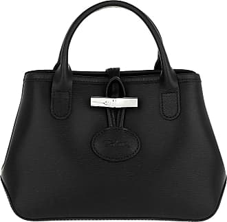 029a613763c6e Longchamp Roseau Crossbody Bag Leather Black Umhängetasche schwarz
