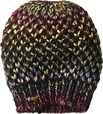 23b22922018 San Diego Hat Company Womens Rainbow Yarn Beanie with Ribbed Opening