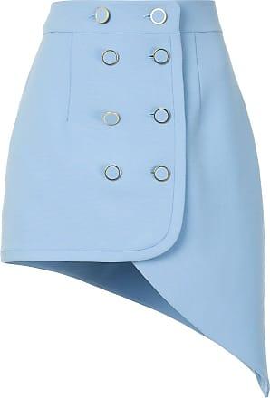 George Keburia double-breasted skirt - Azul