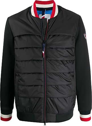 Rossignol contrasting sleeves padded bomber jacket - Black