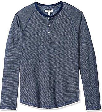 Goodthreads a maniche lunghe Marchio maglia termica stile Henley da uomo