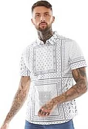 Brave Soul short sleeve shirt with all-over print