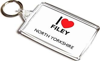 ILoveGifts KEYRING - I Love Filey - North Yorkshire