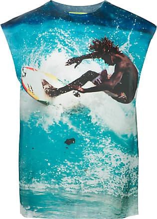Ex Infinitas surf print T-shirt - Azul